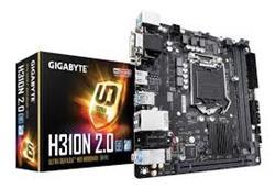 MOTHER 1151 GIGABYTE H310N 2.0 DDR4 MINI ITX (8VA Y 9NA GENERACION)