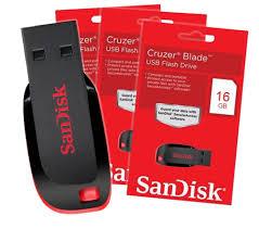 PENDRIVE 16GB SANDISK CRUZER BLADE 2.0