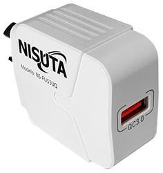 CARGADOR NISUTA NSFU53UQ 1 PUERTO CARGA RAPIDA QC3.0